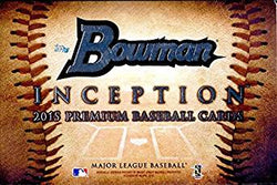 2015 Bowman Inception Baseball Box