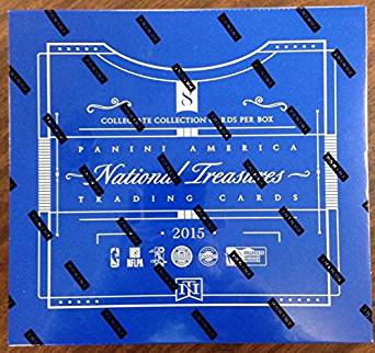 2015 Panini National Treasures Multi-Sport Box