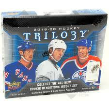 2019-20 Upper Deck Trilogy Hockey Box