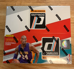 2019-20 Panini Donruss Basketball Retail Box