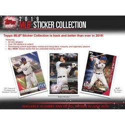 2019 Topps Baseball Sticker Box