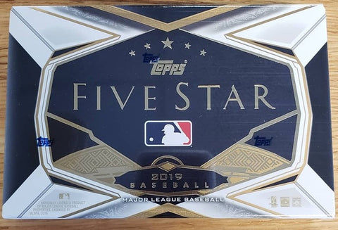 2019 Topps Five Star Baseball Box