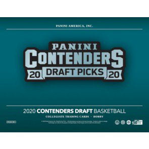 2020-21 Panini Contenders Draft Picks Collegiate Basketball - 12 Box Case