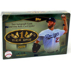 2019 Topps Tier One Baseball Box