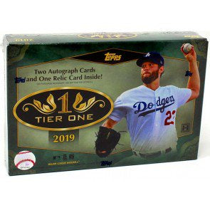 2019 Topps Tier One Baseball 12-Box Case