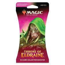 Magic The Gathering Throne of Eldraine Sleeved Collector Booster Pack