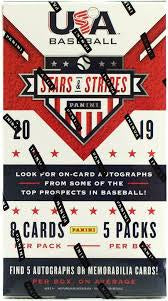 2019 Panini USA Stars and Stripes Baseball 20-Box Case