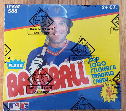 1989 Fleer Baseball Early Run Cello Box (BBCE Wrapped FASC)