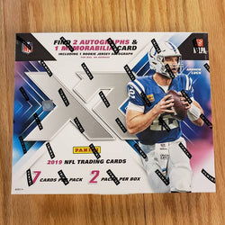 2019 Panini XR Football Box