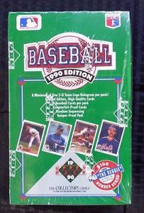 1990 Upper Deck Baseball High Series Box
