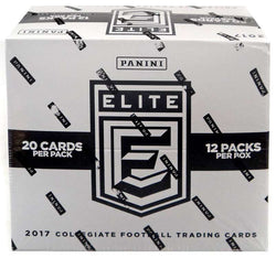 2017 Panini Elite Draft Picks Football Fat Packs Box