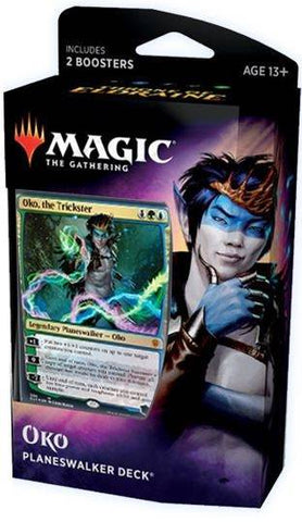 Magic The Gathering Throne of Eldraine Planeswalker Deck Oko