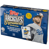 2019 Topps Archives Signature Series Active Player Box