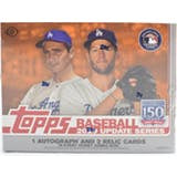 2019 Topps Update Baseball Hobby Jumbo 6-Box Case
