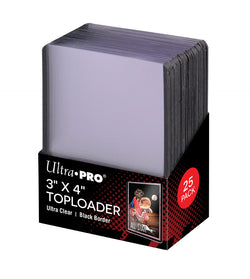 ULTRA PRO BLACK TOP LOAD Pack (25)