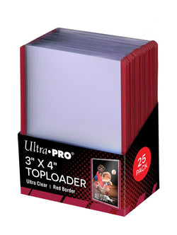 ULTRA PRO RED TOP LOAD Pack (25)