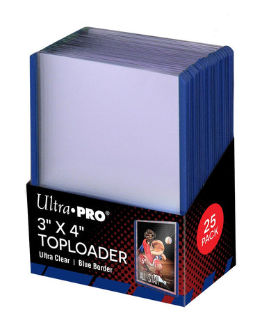 ULTRA PRO BLUE TOP LOAD Pack (25)