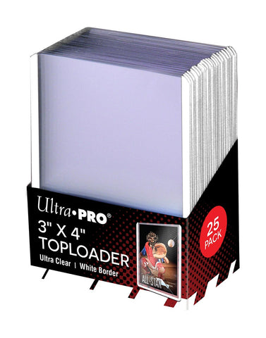 ULTRA PRO WHITE TOP LOAD Pack (25)