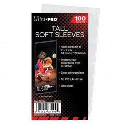 ULTRA PRO TALL SOFT SLEEVES - PACK (100)