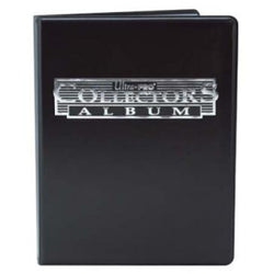 ULTRA PRO 4 POCKET PORTFOLIO COLLECTORS BLACK