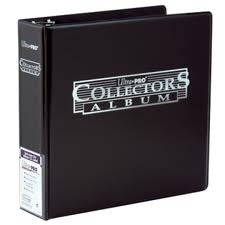 "ULTRA PRO 3"" COLLECTORS BLACK ALBUM"