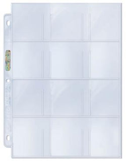 ULTRA PRO PLATINUM 12-POCKET PAGE Box (100)