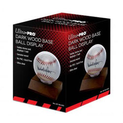 Ultra Pro Wood Base Baseball Display