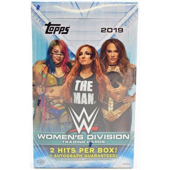 2019 Topps WWE Womens Division Hobby 12-Box Case