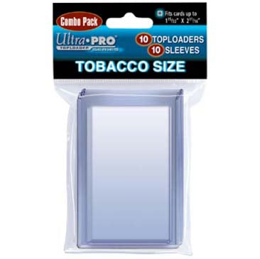 ULTRA PRO TOBACCO SIZE COMBO TOPLOAD/SLEEVE (Pack 10)