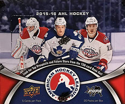 2015-16 Upper Deck AHL Hockey Box