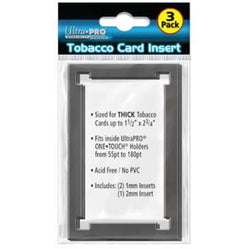 ULTRA PRO TOBACCO CARD INSERT FOR MAGNETIC