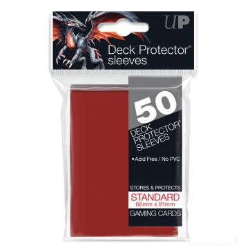 ULTRA PRO RED DECK PROTECTOR (50)