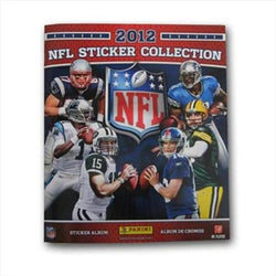 2012 Panini Stickers Football Box