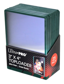 ULTRA PRO GREEN TOP LOAD Pack (25)