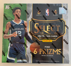2019-20 Panini Select Hybrid Basketball Box