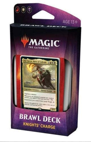 Magic The Gathering Throne of Eldraine Brawl Deck - KNIGHTS' CHARGE