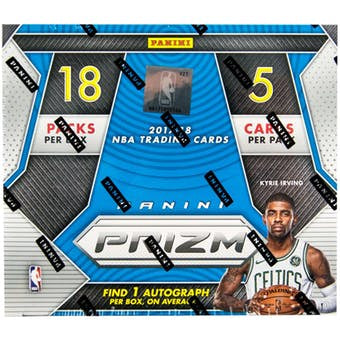 2017-18 Panini Prizm Fast Break Basketball Box