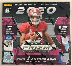 2020 Panini Prizm Draft Picks Collectors Hobby Hybrid Box