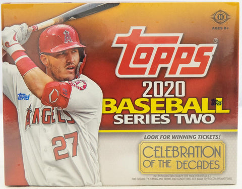2020 Topps Series 2 Jumbo Baseball Box