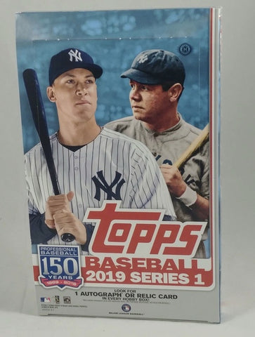2019 Topps Baseball Series 1 Hobby Case