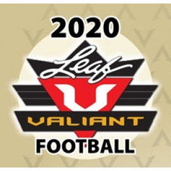 2020 Leaf Valiant Football Box