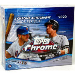 2020 Topps Chrome Jumbo Baseball Box