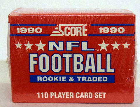 1990 Score Football Rookie and Traded