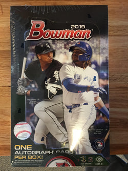 2019 Bowman Baseball Hobby 12-Box Case