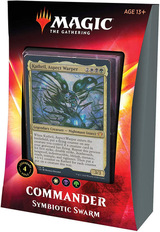 Magic The Gathering Ikoria Commander Deck Symbiotic Swarm