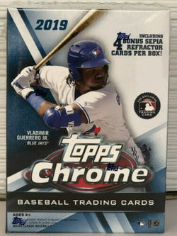 2019 Topps Chrome Baseball Blaster Box