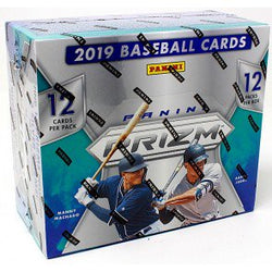 2019 Panini Prizm Baseball 12-Box Case