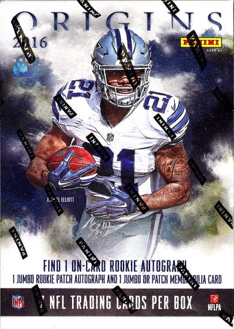 2016 Panini Origins Football Box