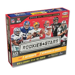 2018 Panini Rookies and Stars Football Box