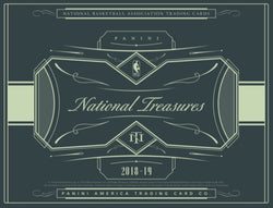 2018-19 Panini National Treasures Basketball Box